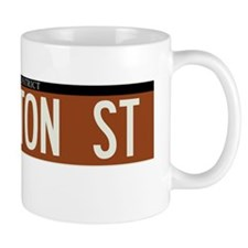 West Houston Street in NY Mug
