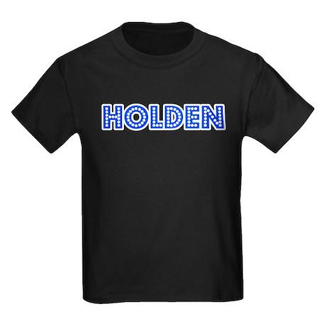 Retro Holden (Blue) Kids Dark T-Shirt