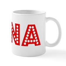 Retro Xena (Red) Mug