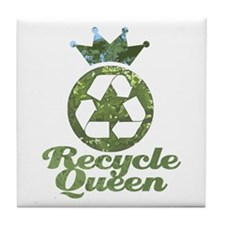 Recycle Queen Tile Coaster