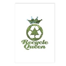 Recycle Queen Postcards (Package of 8)