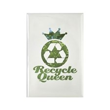 Recycle Queen Rectangle Magnet