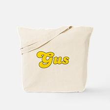 Retro Gus (Gold) Tote Bag