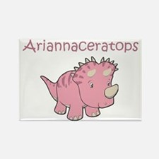 Ariannaceratops Rectangle Magnet