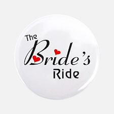 """The Bride's Ride 3.5"""" Button"""