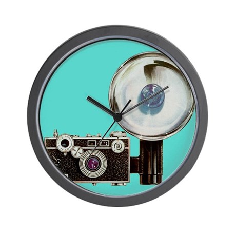 Photog Studio Wall Clock