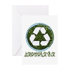Recycle Me Greeting Card