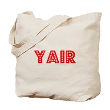 Retro Yair (Red) Tote Bag
