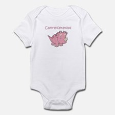 Camrynceratops Infant Bodysuit
