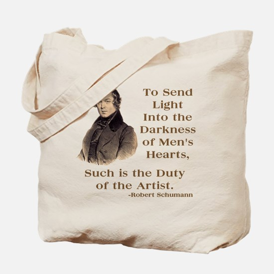 Maurice Ravel Light in Darkness Tote Bag