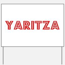 Retro Yaritza (Red) Yard Sign