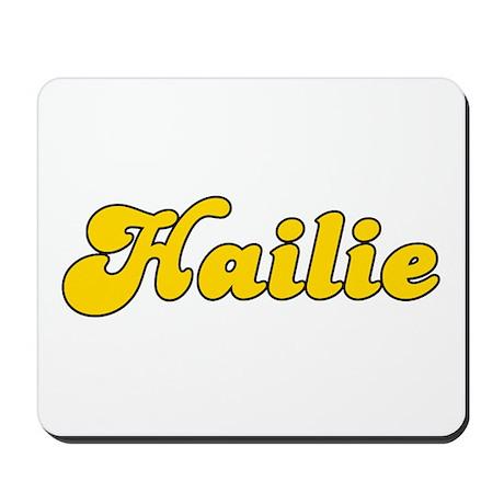 Retro Hailie (Gold) Mousepad