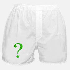 Cute Question Boxer Shorts