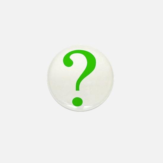 Cute Questions Mini Button