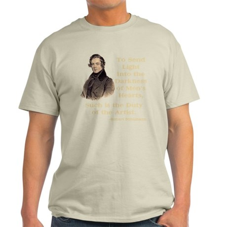 Maurice Ravel Light in Darkness Light T-Shirt