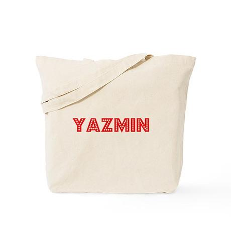 Retro Yazmin (Red) Tote Bag