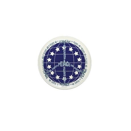 World Peace Anti War Mini Button