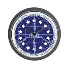 World Peace Anti War Wall Clock