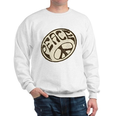Retro Vintage Peace Sign Sweatshirt