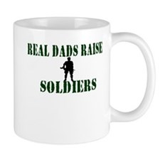 Real Dads Raise Soldiers Mug