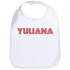 Retro Yuliana (Red) Bib