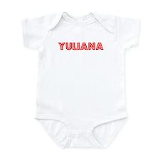 Retro Yuliana (Red) Infant Bodysuit
