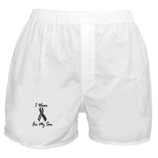 I Wear Black For My Son 1 Boxer Shorts