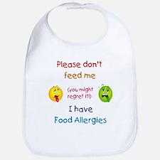 Don't Feed Me Bib