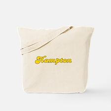 Retro Hampton (Gold) Tote Bag