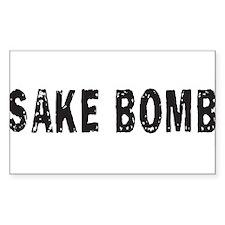 SAKE BOMB Rectangle Decal