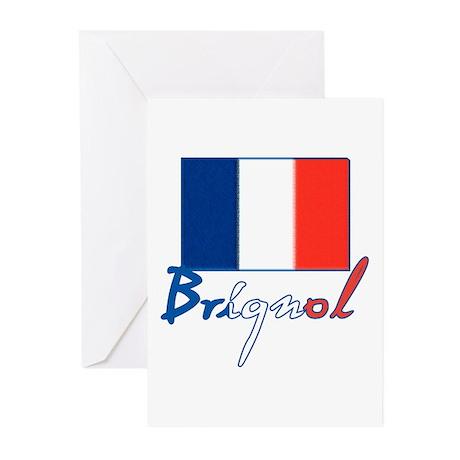 Brignol France in Aix en Provence Greeting Cards (