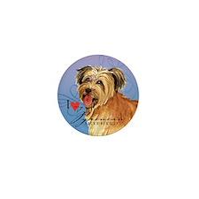 Pyrenean Shepherd Mini Button