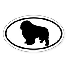 ENGLISH TOY Oval Decal