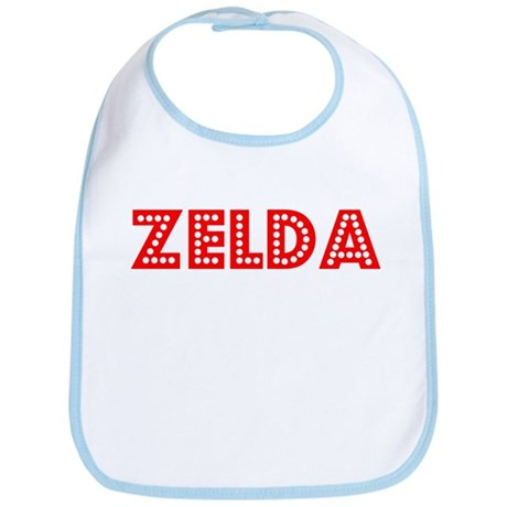 Retro Zelda (Red) Bib