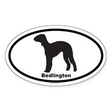 BEDLINGTON Oval Decal