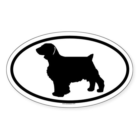 WELSH SPRINGER Oval Sticker
