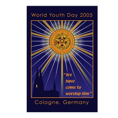 World Youth Day Postcards (Package of 8)