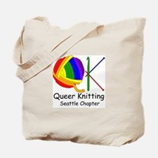 SEA Queer Knitting Tote Bag