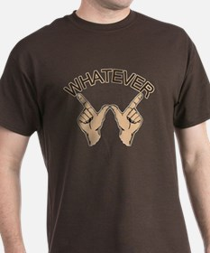 Whatever Hand Gesture T-Shirt