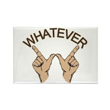Whatever Hand Gesture Rectangle Magnet (10 pack)
