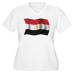 Wavy Egypt Flag T-Shirt