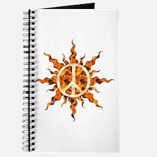 Flaming Peace Sun Journal