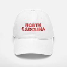 Retro North Carolina (Red) Baseball Baseball Cap