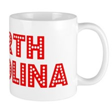 Retro North Carolina (Red) Mug