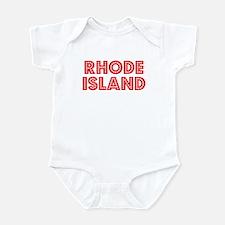 Retro Rhode Island (Red) Infant Bodysuit