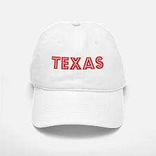 Retro Texas (Red) Baseball Baseball Cap