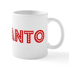 Retro Adelanto (Red) Mug