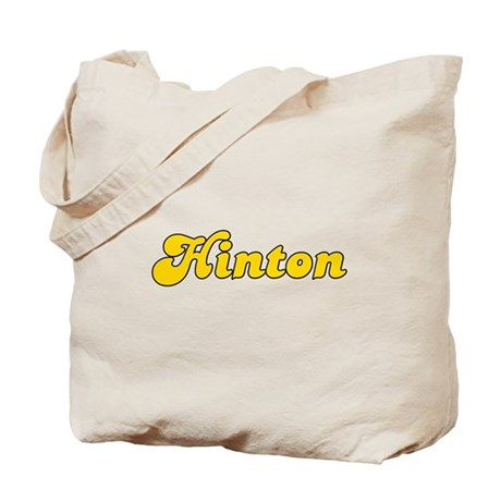 Retro Hinton (Gold) Tote Bag