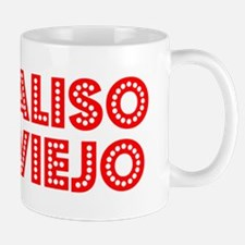 Retro Aliso Viejo (Red) Mug
