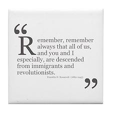 Revolutionists Tile Coaster
